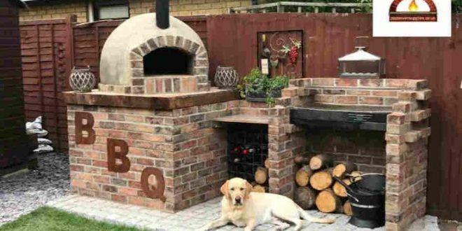 Laissez Nous Construire Un Four A Pizza De Jardin En Plein Air De Premiere Classe Ou Acheter Un Outdoor Fireplace Pizza Oven Pizza Oven Outdoor Diy Pizza Oven