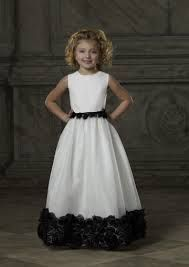 white and black junior bridesmaid dresses - Google Search