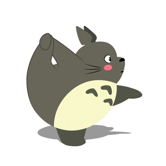 Pour vos séances de fitness, on a trouvé le meilleur coach : Totoro