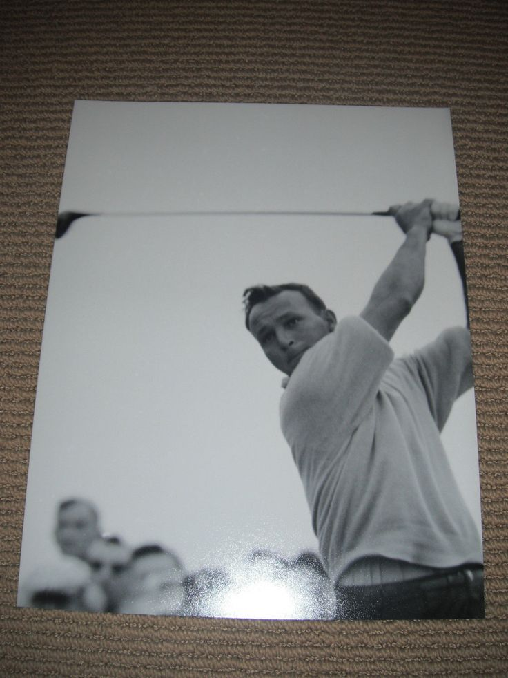 Arnold Palmer Golf Golfer B&W 1114 Promo Photo