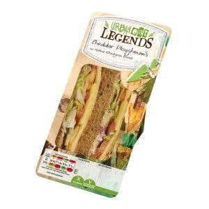 Mature Cheddar Ploughmans Sandwich