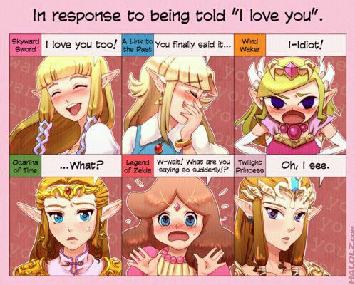 Every Zelda is diffrent respect there judement link, and watch wt you say around wind waker if you know wt i mean XD