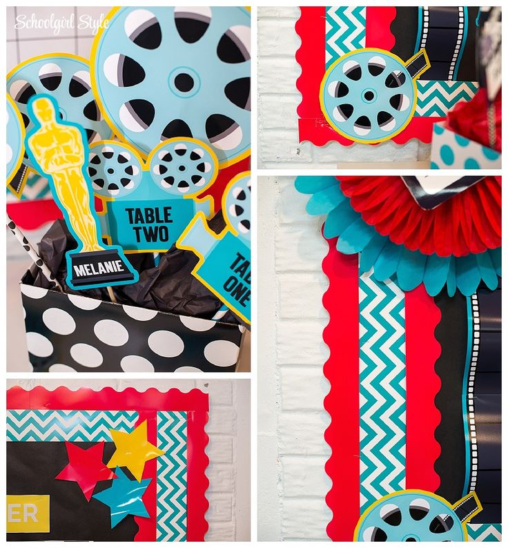 This is my 2015-2016 classroom theme!  So excited!  Hollywood classroom theme by Schoolgirl Style www.schoolgirlstyle.com