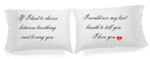 Housewarming gifts:Set of 2 I Love You Pillowcases Super Soft Pillowcases-romantic Valentines Gifts for Couples, Cute Valentines Day Gift Ideas, Good Couple Gifts for Valentines, Romantic Anniversary Gifts