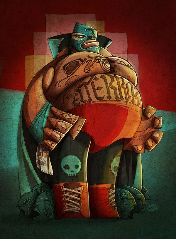 62 best loco for luchador images on Pinterest | Female ...