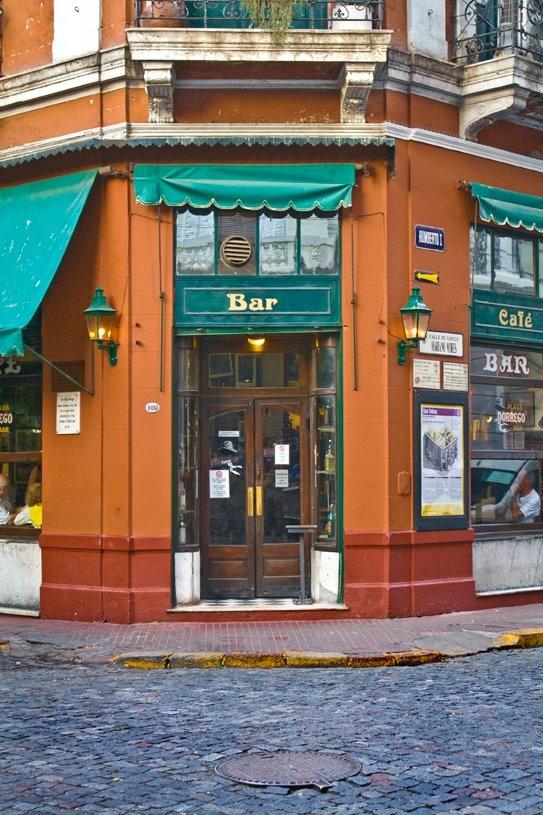 Bar Dorrego. San Telmo, Buenos Aires, Argentina