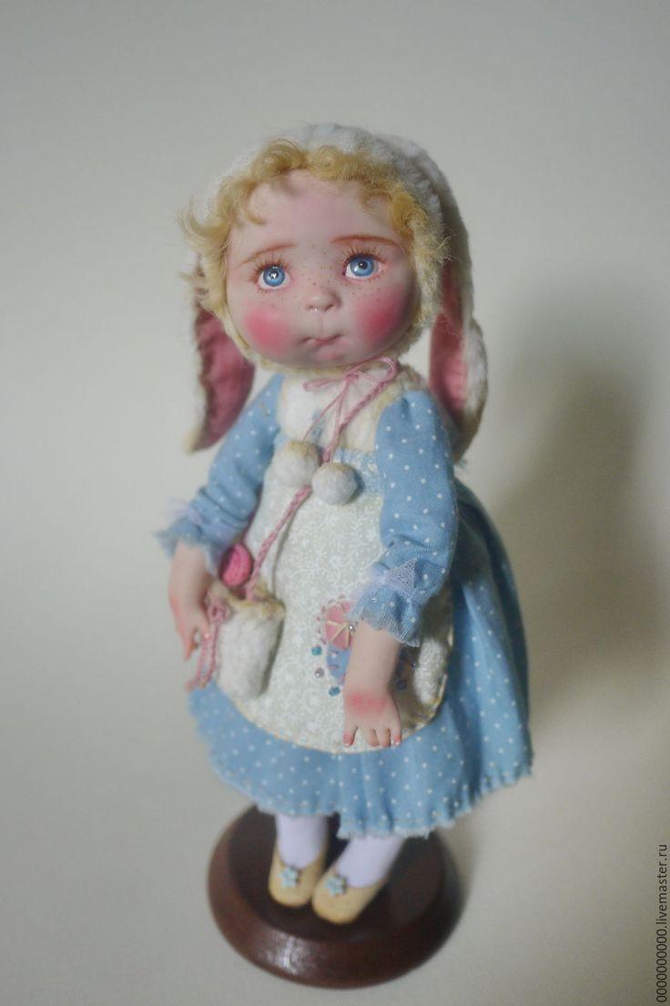 Купить Маша - коллекционная кукла, коллекционные игрушки, коллекционные куклы, девочка, зайка девочка