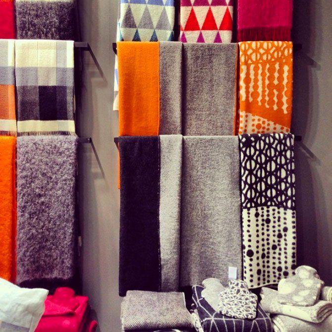 Finnish Textiles from Lapuan Kankurit Maison et Objet 2013