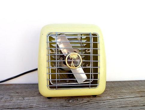 1950s Portable Heater Yellow Tropic Aire Par