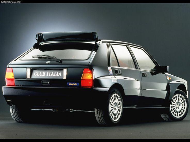 Lancia Delta Integrale - classic rally car