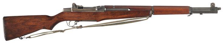 Desirable Late World War II 1945 Production Springfield Armory M1 Garand Semi-Automatic Rifle
