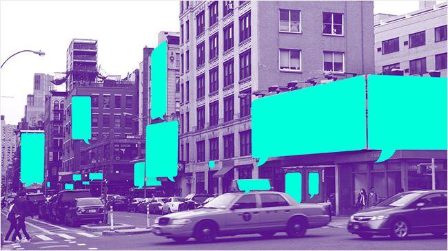 윤디자인 블로그 :: [프로젝트 textingcity] 서울, 뉴욕으로 문자 메시지를 보내주세요