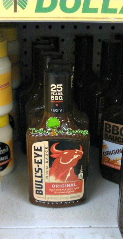 Bull's Eye BBQ Sauce Only $0.50! - http://dollartreesavings.com/bulls-eye-bbq-sauce-only-0-50/