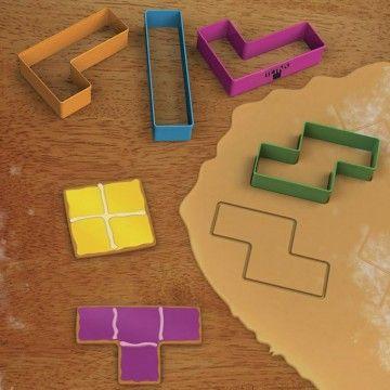 Molde para cookies Tetris - Tienda de regalos originales QueLoVendan.com