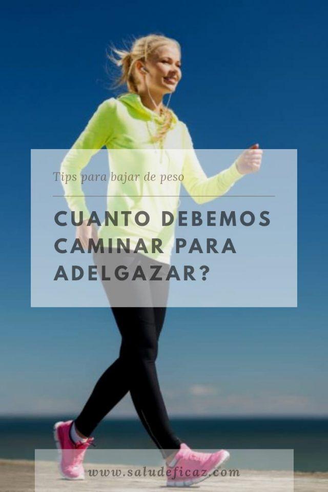 cuantos kilometros caminar para perder peso