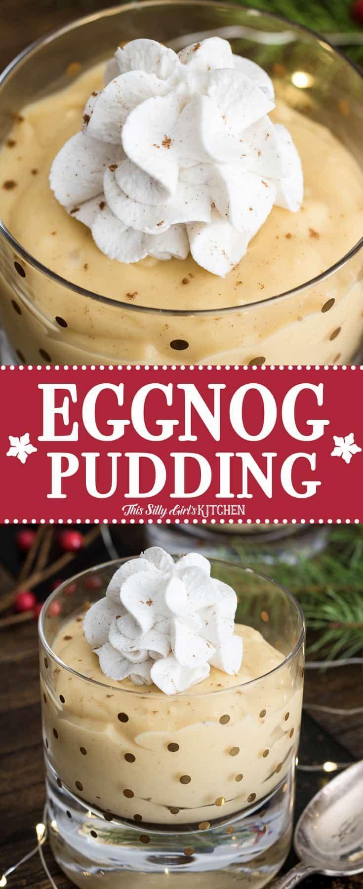 Pudding au lait de poule fait maison