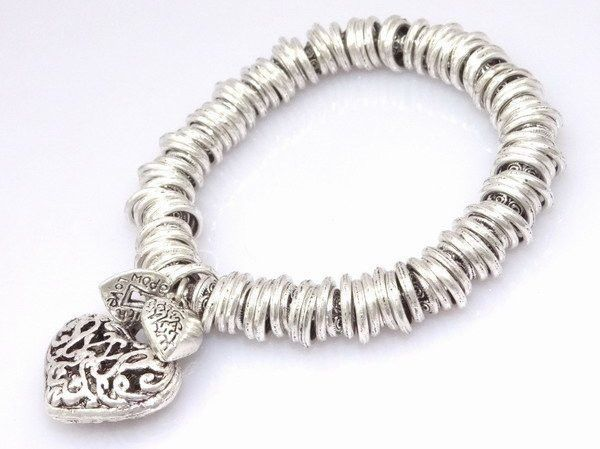 fashion jewelry,925 Stamped 925 Sterling Silver Jewelry Bracelets&bracelet, Miao Silver, Brand New D65