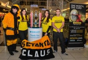 Pluto Team land in Blanchardstown with the Premier League Trophy