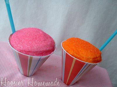 Cupcakes.: Summer Cupcakes, Snow Cones Cupcakes, Cakes Cupcakes, Parties Ideas, Kids Cupcakes, April Fools, Snow Cone Cupcakes, Snowcon Cupcakes, Ice Cream Cones