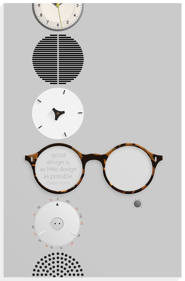 A portrait poster of Dieter Rams on Behance                                                                                                                                                                                 More