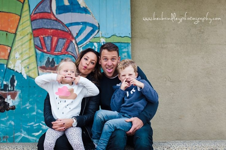 Fun family session  Bec Brindley - family photographer melbourne