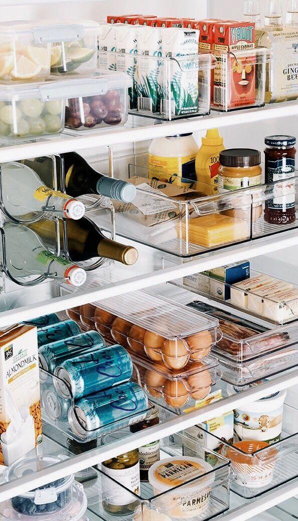 organisatie koelkast