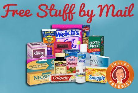 Get Free Stuff by Mail! JuliesFreebies.com