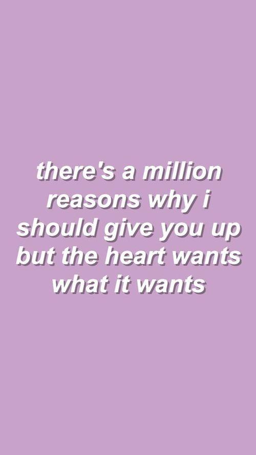 The Heart Wants What It Wants // Selena Gomez