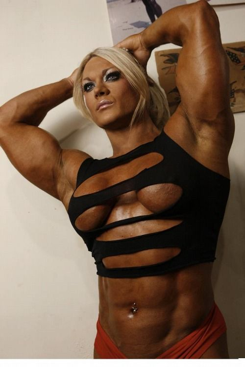 Free female bodybuilder porn video