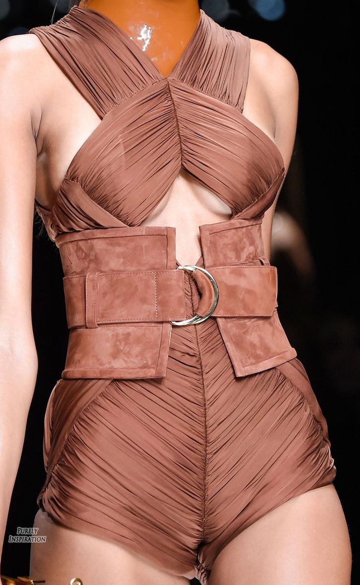 Visions of the Future: Balmain SS2016 Women's Fashion RTW | Purely Inspiration