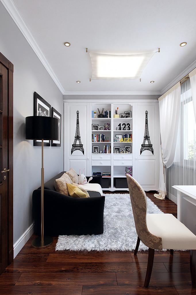 Интерьер детской комнаты для молодой девушки во французском стиле
