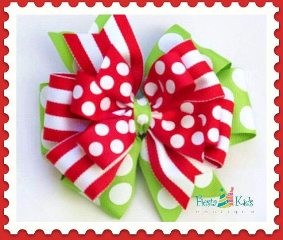 Hey, I found this really awesome Etsy listing at http://www.etsy.com/listing/165416465/christmas-hair-bow-with-headband-holiday