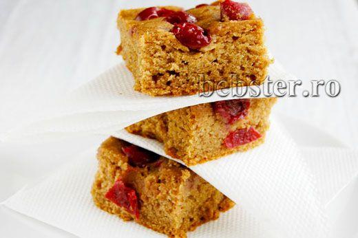 turta dulce cu visine fara gluten sau zahar