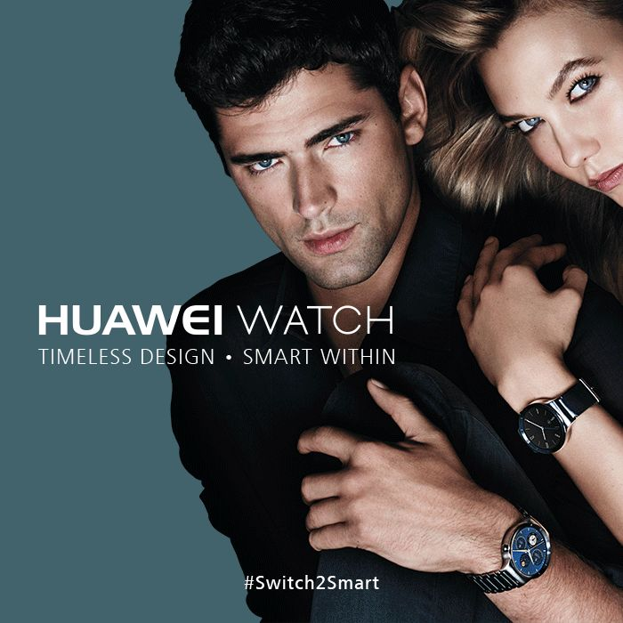 Enjoy the uncompromised performance of the incredibly intelligent Huawei Watch Classic - Timeless Design, Smart Within! #switch2smart