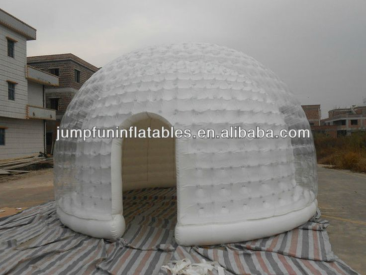 inflatable PVC dome tent inflatable clear tent inflatable zorb tent