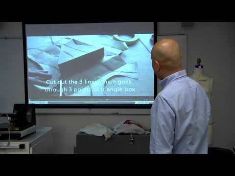 ▶ Pattern-Making Workshop with Shingo Sato | Parsons The New School for Design - YouTube
