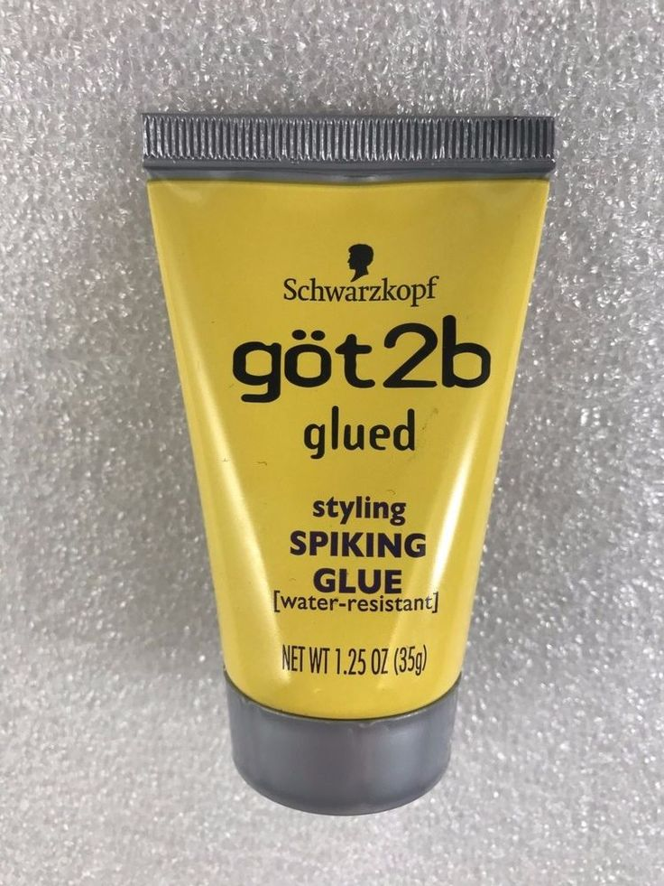 Got2b glued spiking styling glue is the ultimate spiker. styling SPIKING GLUE. WATER RESISTANT.   eBay!