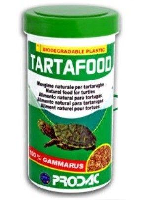 Prodac Tarta Food Gammarus Alimento de origen animal 100% crustáceos (gammarus) especialmente estudiado para una sana alimentación de tortugas de agua dulce.