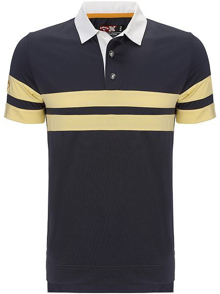 Rugby chest stripe polo