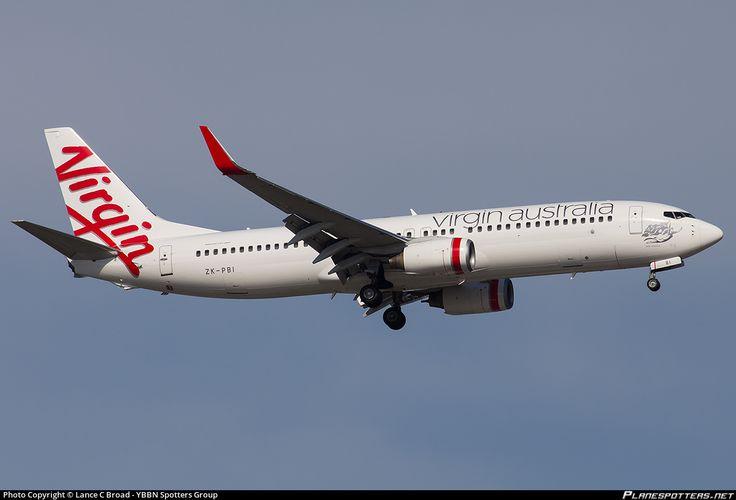 ZK-PBI Virgin Australia Boeing 737-8FE(WL) photographed at Brisbane - International (BNE / YBBN) by Lance C Broad - YBBN Spotters Group