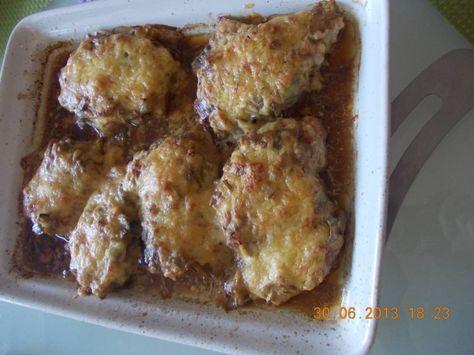 Schnitzels Met Romige Prei-champignonsaus Uit De Oven recept | Smulweb.nl