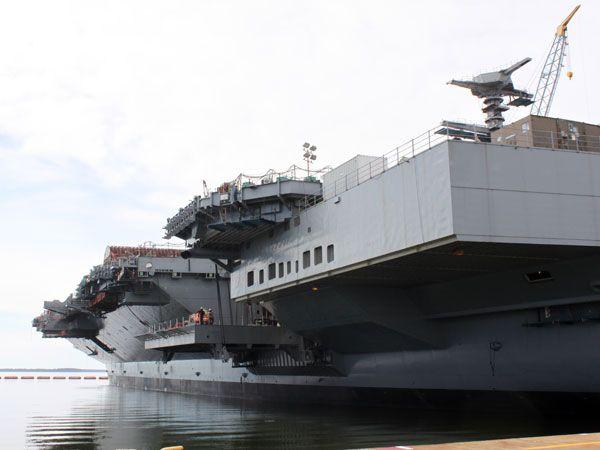 Inside the USS Ford, America's Newest Aircraft Carrier - Popular Mechanics