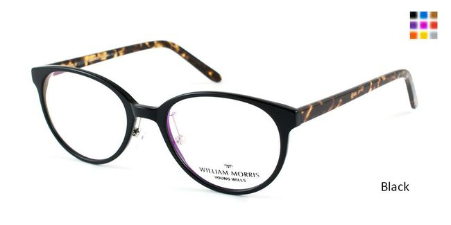 2372a6611c9 Black Willis By William Morris WMYOU72EYEGLASSES for young adults