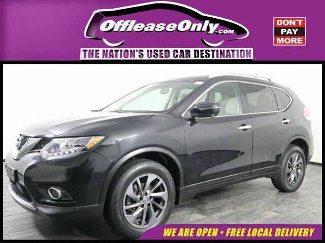 2016 Nissan Rogue Sl Awd Off Lease Only 2016 Nissan Rogue Sl Awd Regular Unleaded I 4 2 5 L 152 In 2020 Nissan Rogue Sl Nissan Rogue Nissan