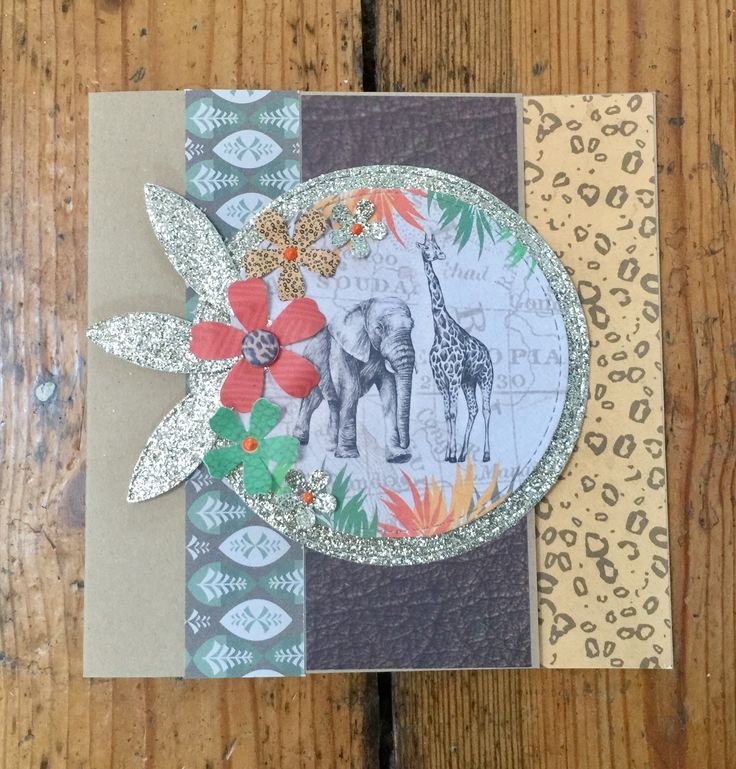Craftwork Cards Savannah Range. Card created by Elisabeth Hogarth