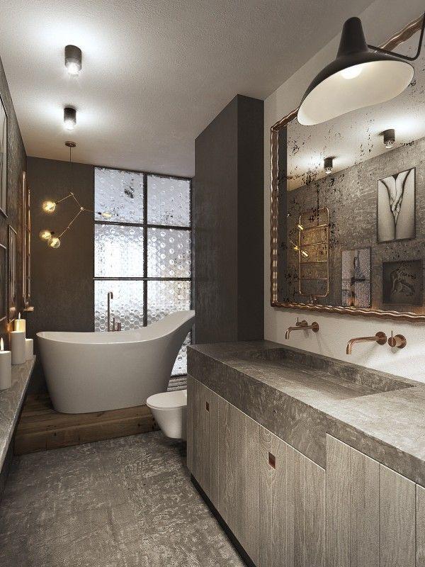 120 besten Bad und Toilette Bilder auf Pinterest Badezimmer - badezimmer kleine räume