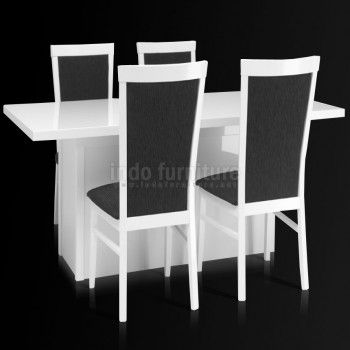 Set Meja Makan Minimalis Modern | Indo Furniture