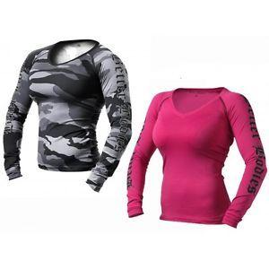 camo workout gear for women | BETTER BODIES - Women's Flex Long Sleeved Camo Workout Athletic ...