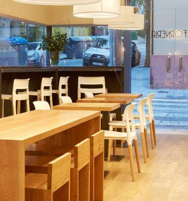 Divani Natural Bar Stool by Impaczone http://www.impaczone.com/products/2/Divani-Natural-Bar-Stool-White-750H2