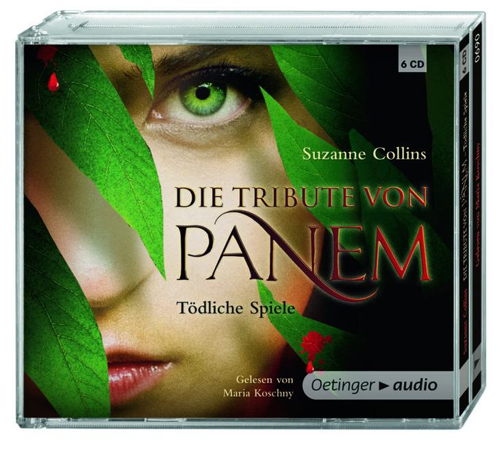Die Tribute von Panem 1 - Tödliche Spiele (6 CD) von Suzanne Collins